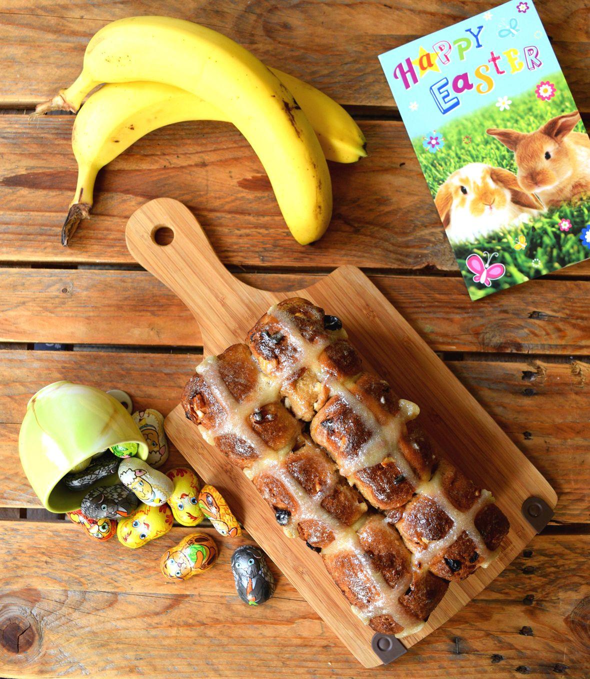 Hot Cross banana Loaf 3